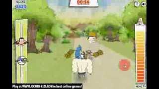 Jocuri Cu Mordecai Si Rigbi In 3D