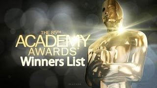 85th Academy Awards Oscar Awards 2013 Winners List