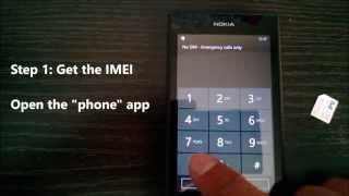 How To Unlock A Nokia Lumia 520 From Koodo Mobile With An