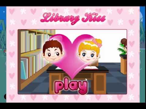 Game hôn nhau trong thư viện