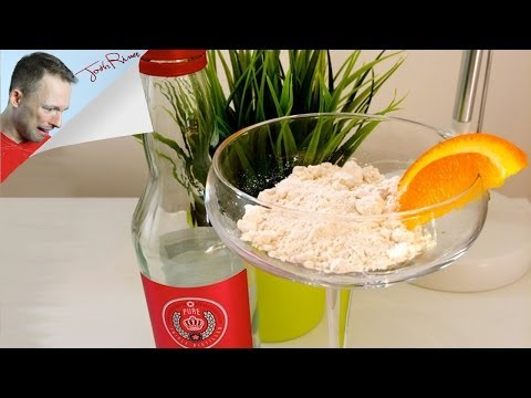 POWDERED ALCOHOL TURNS WATER INTO BOOZE!