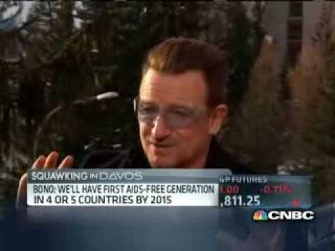 Bono habla de Invisible de U2 explica la colaboración con el Bank Of America (RED) #Connect4Red