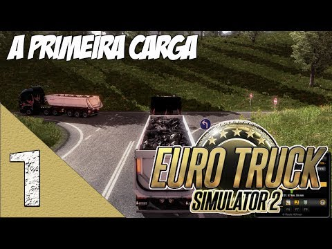 Euro Truck Simulator 2 Multiplayer - A Primeira Carga