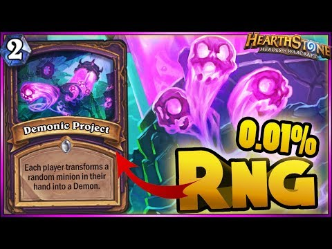 Hearthstone 0.01% RNG, WTF Moments - Boomsday Funny Rng Moments