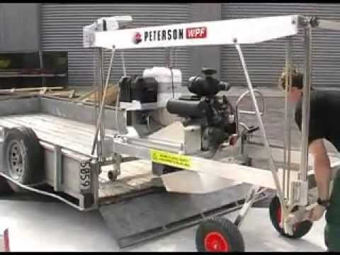 Portable Sawmill Trailer Transportation Instructions - WPF
