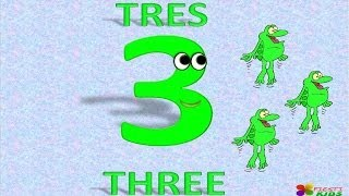 Numbers 1 To 20 In English And Spanish For Children