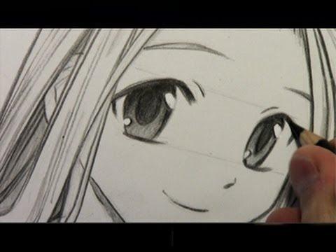 Cara menggambar anime nih.. tapi lama banget yang sabar ya.. tinggalkan wow ya..