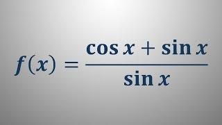 Odvod trigonometrične funkcije 5