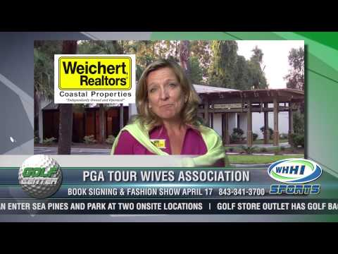 GOLF CENTER | PGA TOUR WIVES ASSOCIATION | Karen Ryan, Weicher Realtor CP | 4/10/13 | WHHI Sports