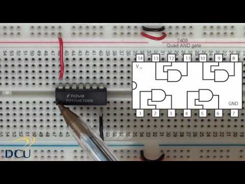 Experiments 2.2: Logic Gates - Integrated Circuits Part 1
