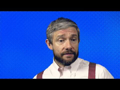 Martin Freeman on Trafalgar Transformed's Richard III