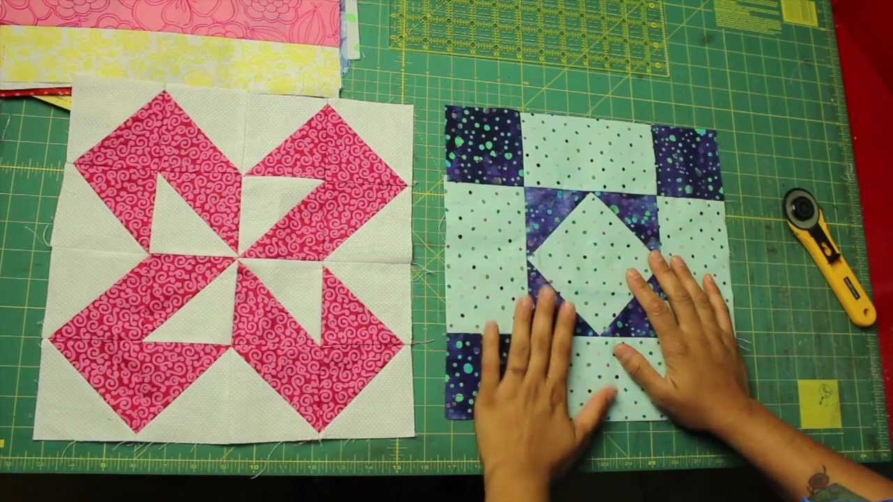 How To Square Up Quilt Blocks Youtube