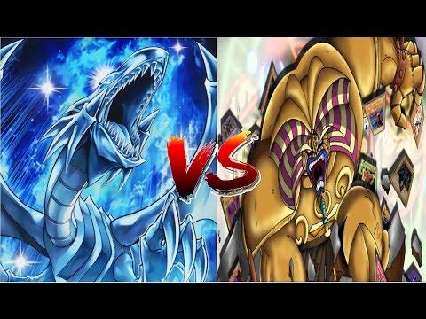 Vua Trò Chơi YuGiOh: Vị thần sức mạnh bị lãng quên đấu với Rồng trắng mắt xanh huyền thoại