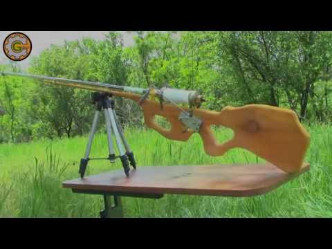 Cách làm súng hơi từ gỗ