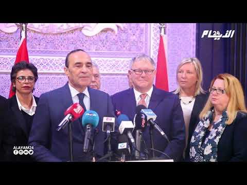 انعقاد اللجنة البرلمانية بين مجلس النواب والجمعية الوطنية للكبيك