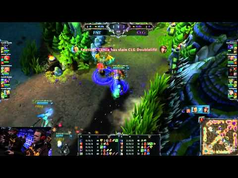 IEM World Championship CLG vs. fnatic (League of Legends)