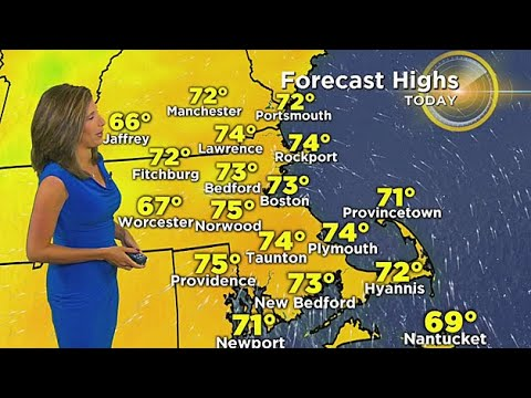 WBZ Morning Forecast For September 8