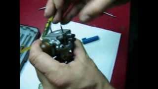 Mantenimiento decarburador de motosierra