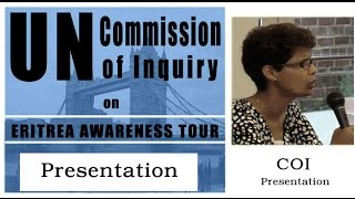 Part 1: Commission of Inquiry Presentation with Elsa Chyrum