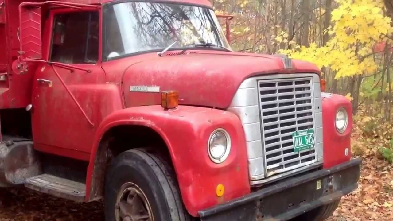 1973 International Loadstar 1700 Dump Truck Youtube