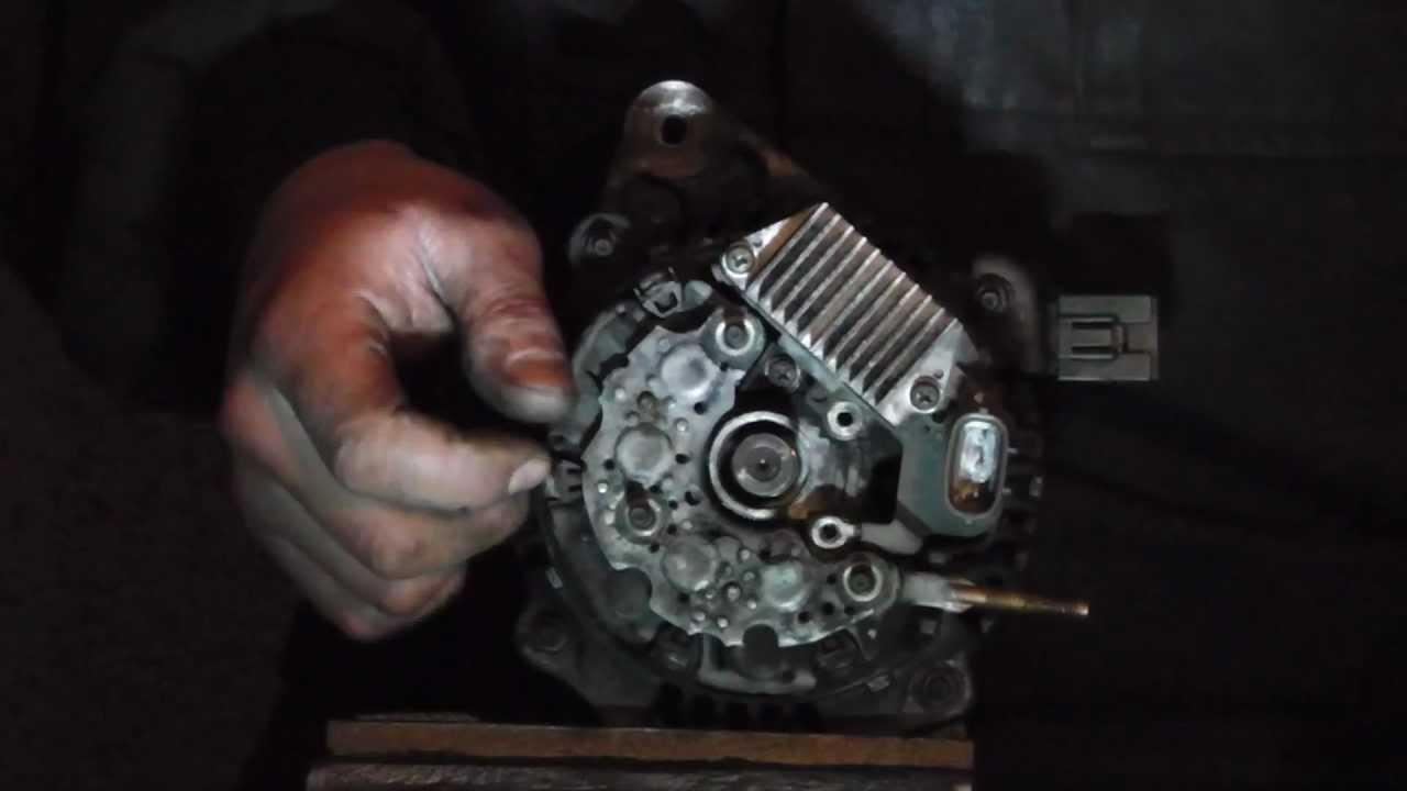 Toyota  Honda Alternator Diagnose Not Charging Problem And