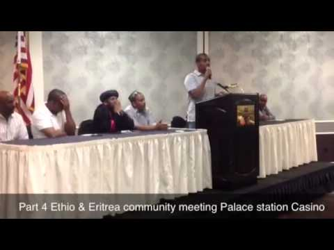 Part 4 Ethio & Eritrea community meeting Palace station Cas