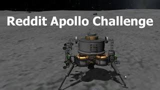 Kerbal Space Program Apollo Style Reddit Challenge