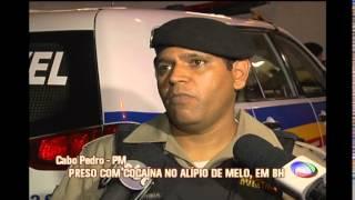 Homem � preso com drogas no Bairro Alipio de Melo