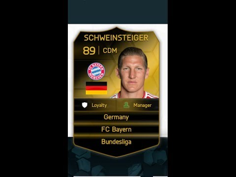 Fifa 14 ultimate team: Inform Bastian Schweinsteiger player review plus highlights