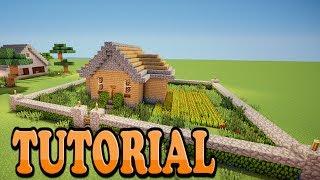 Minecraft: Como Hacer Una Casa De Campo Bonita Y Sencilla