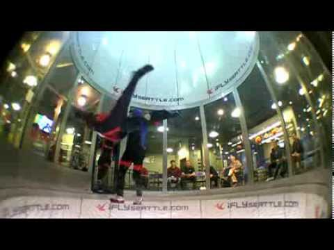 Beginner iFly Indoor Skydiving Session in Seattle