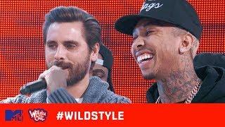 Wild 'N Out | Tyga & Scott Disick Can't Escape the Kardashian Cracks | #Wildstyle