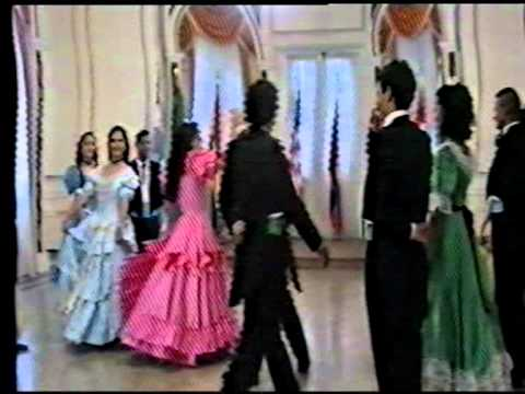 Terry McGahan dances Paraguayan Colonial Dance