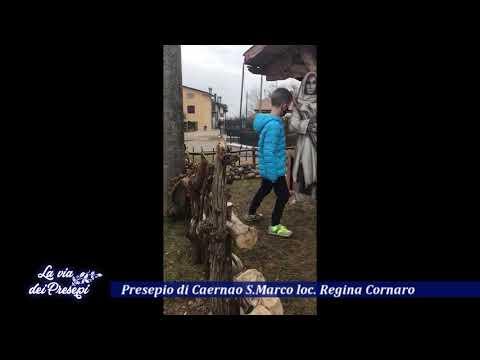 La via dei presepi - Caerano San Marco Via Regina Cornaro