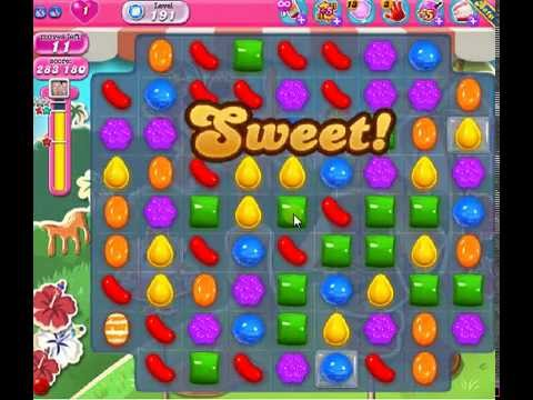 How To Beat Candy Crush Saga Level 191 2 Stars No Boosters 296