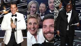 Best Oscars 2014 Moments