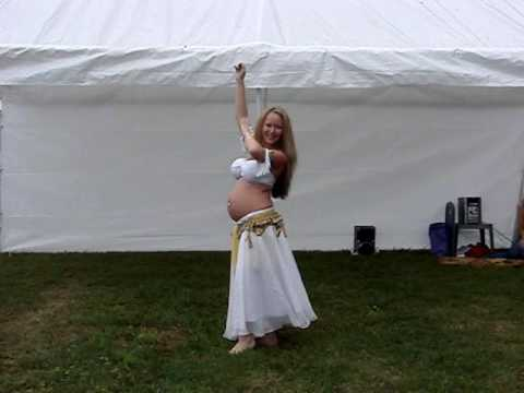 Pregnant Belly Dancer (