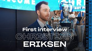 CHRISTIAN ERIKSEN | Exclusive first Inter TV Interview | #WelcomeChristian! 🎙️⚫️🔵?? [SUB ITA]