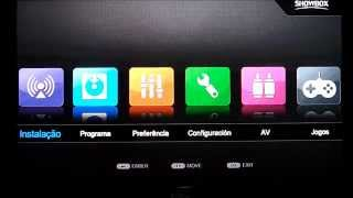 Como Configurar CS No ShowBox SAT HD Plus