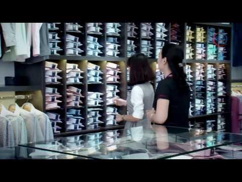 Khám phá sản phẩm áo sơ mi từ sợi vải tre của Việt Tiến