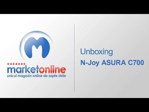 Tableta N-Joy ASURA C700 UNBOXING | MarketOnline.ro