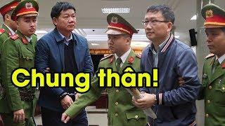 Đinh La Thăng khóc tức tưởi khi nghe tòa tuyên đọc mức án, Trịnh Xuân Thanh ngất xỉu tại chỗ