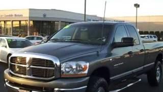 2006 Dodge Ram 3500 SLT Quad Cab Gray Art Gamblion Motors Chris Streuli V2153 videos