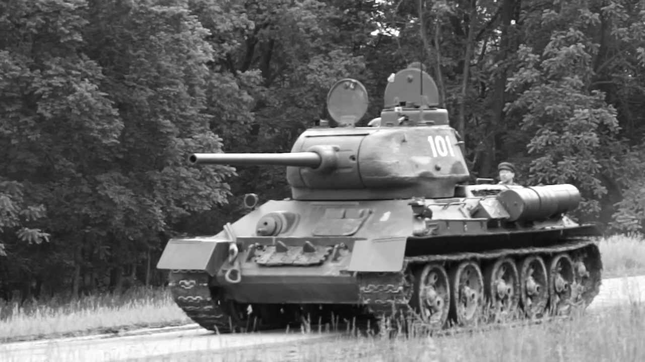 ww2 russian t3485 tank battle 2 june 2013 youtube