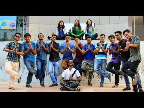 Independant University (IUB) - ICC T20 World Cup Bangladesh 2014,Flash Mob
