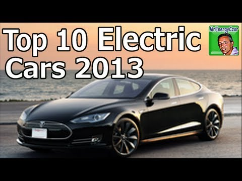 Top 10 Electric Cars 2013 (6 months of sales)