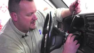 Ignition Lock Cylinder Replacement (late Model GM Trucks