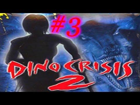 Dino Crisis 2 Gameplay #3 Só na Fuga