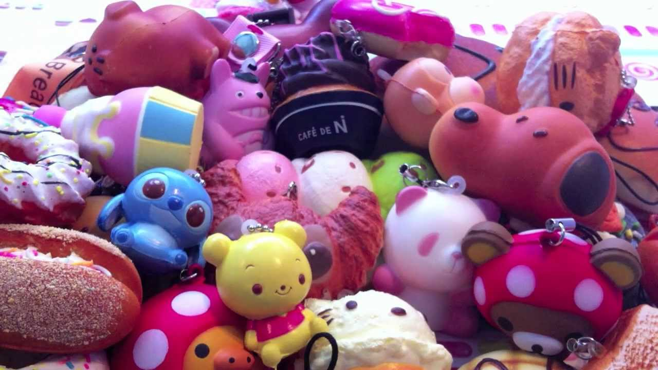 Claycupcakes4 Squishy Collection : Updated Squishy Collection!??? ?? - YouTube