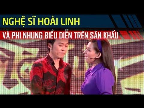 Bộ 3 quyền lực Hoài Linh - Phi Nhung - Thanh Hằng biểu diễn trên sân khấu Tài Tử Tranh Tài